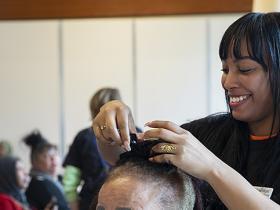 Haagse Vrouwendag 2020 kapper